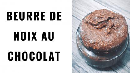 beurre de noix chocolat