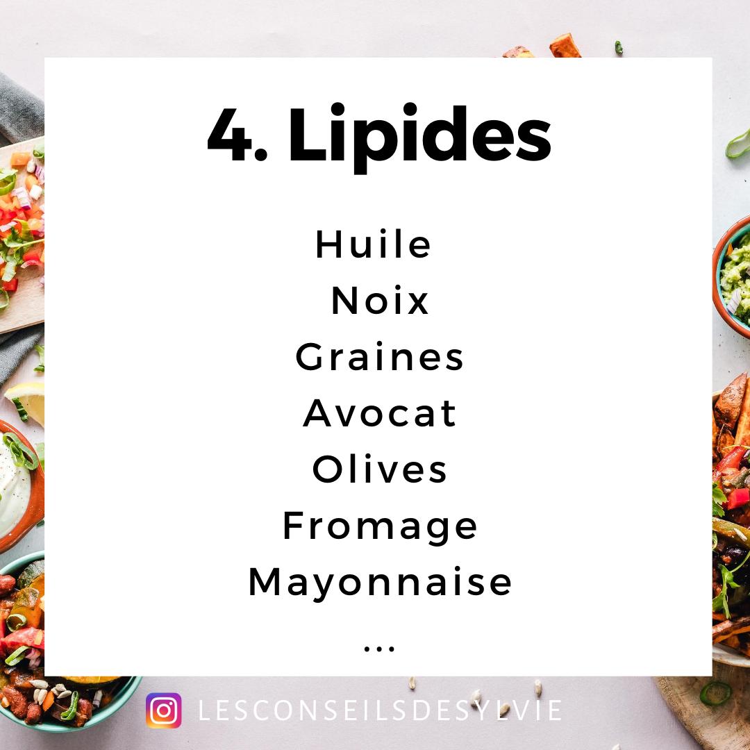 salade composée lipides