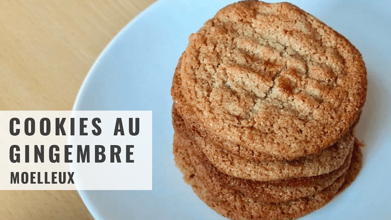 Cookies au gingembre
