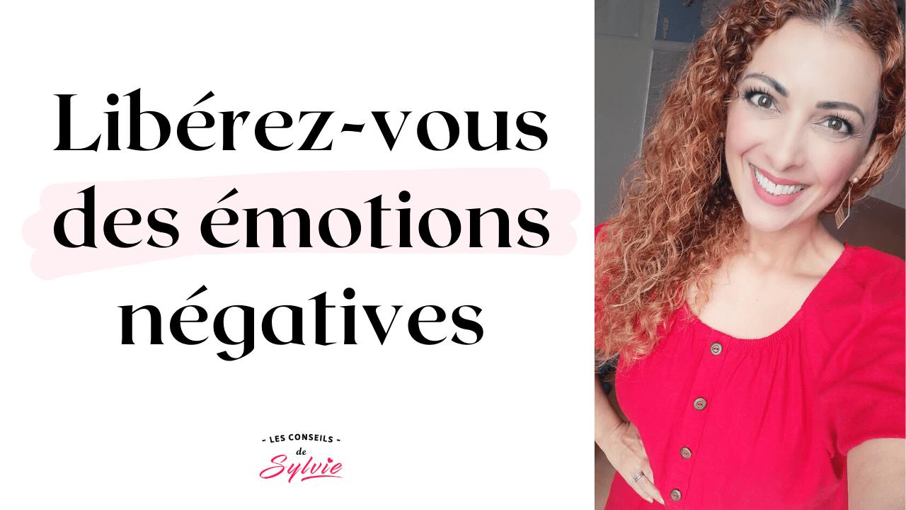 émotions négatives