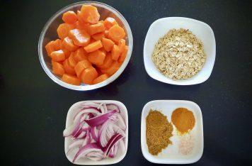 Carrot balls ingrédients