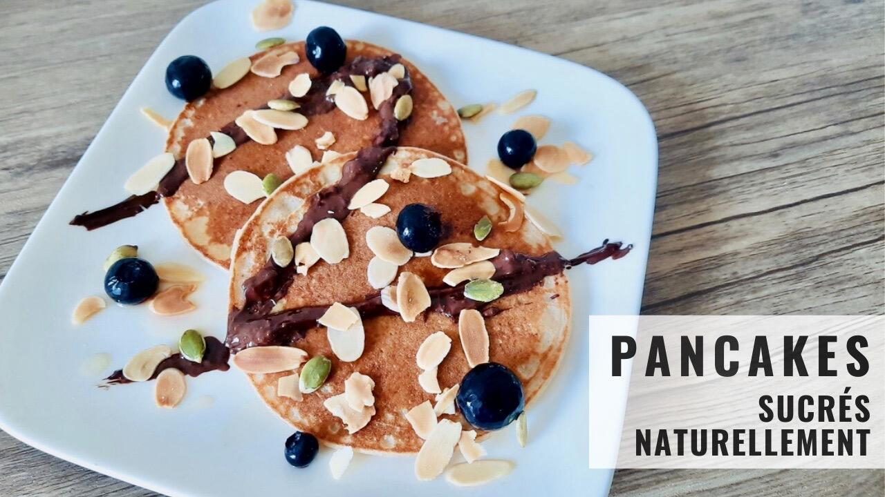 Pancakes sucrés naturellement